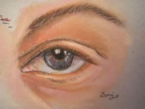 Peindre Au Pastel : comment peindre un oeil aux pastels secs domi dessins et peintures ~ Melissatoandfro.com Idées de Décoration