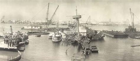 uss maine battleship sinking in harbor uss maine sunk in harbor cuba politics news
