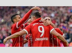 Lewandowski scores twice in Bayern romp — Sport — The