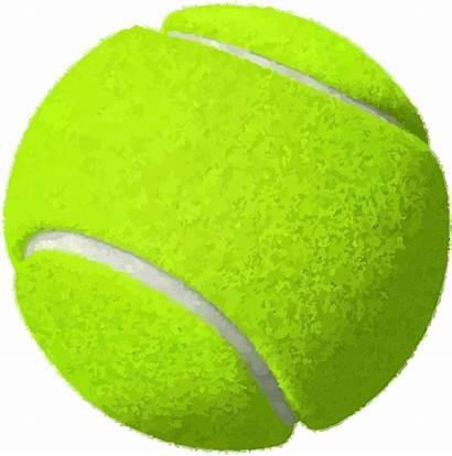 Tennis Clipart Ball Balls Equipment Supplies Svg