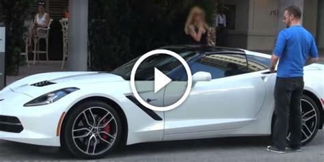 corvette stingray gold digger prank totally exposed