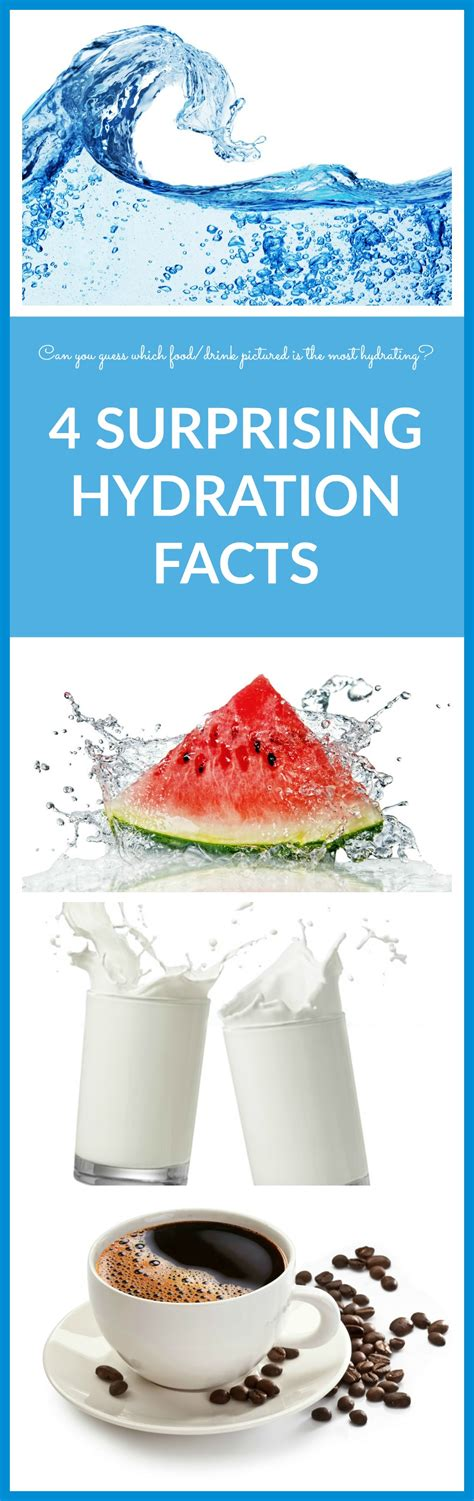 4 Surprising Facts About Hydration  Whitney E Rd
