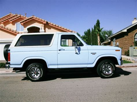 ford bronco xl  sale