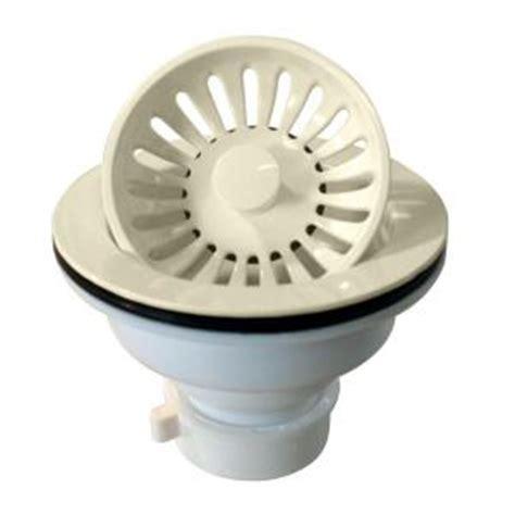 plastic kitchen sink strainer westbrass d2143p 65 plastic push pull kitchen sink