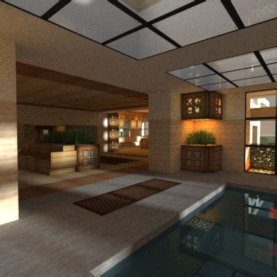love interior renders minecraft houses modern