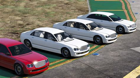 Colour Variations For Executives Dlc Luxury Cars Gta5