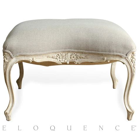 gray armchair with ottoman eloquence duchess ottoman in white finish and grey linen