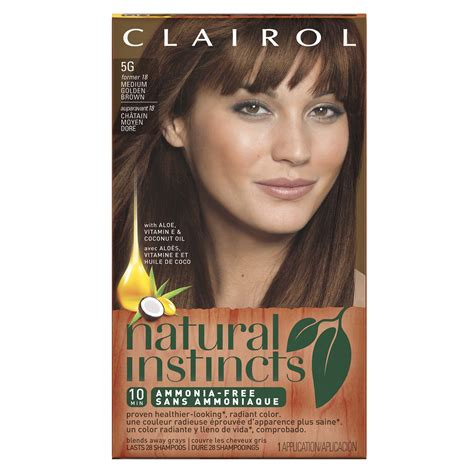 clairol hair colors clairol instincts semi permanent hair