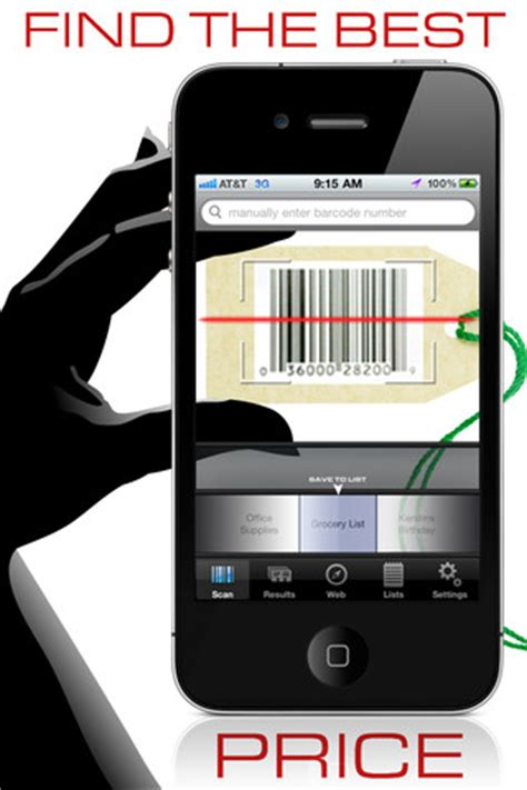 iphone scanner app best barcode scanner apps for your iphone designbeep