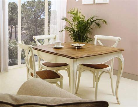 mesa de comedor fija paris cuadrada  sillas cruz de bambo