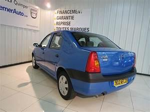Occasion Dacia : voiture occasion dacia logan 1 4 laur ate 2006 essence 29000 quimper finist re votreautofacile ~ Gottalentnigeria.com Avis de Voitures