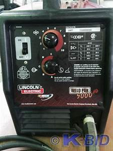 Lincoln Hd 5000 Welder The Lincoln