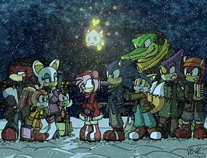 Sonic Christmas 2007 By Tigerfog On DeviantArt