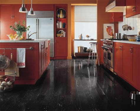 black kitchen flooring ideas kitchens flooring idea maple black by armstrong hardwood flooring