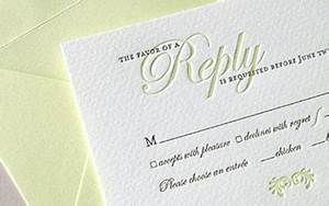 hot foil response card rsvp cards sydney beeprinting With response to a wedding invitation wording