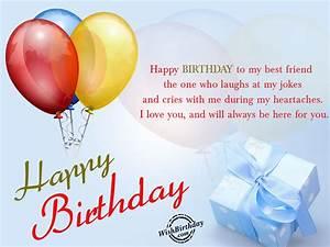 happy birthday messages for him friend my best friend ...