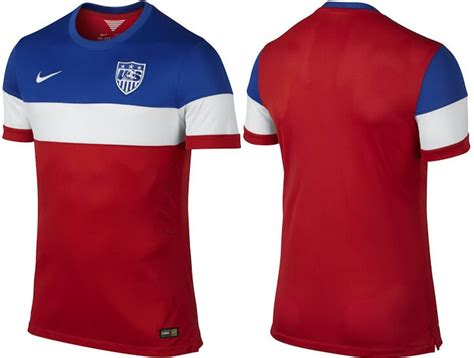 Usa New Kit 2014 Fifa World Cup Home & Away Released