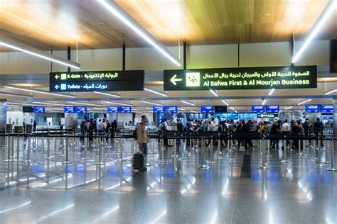 review qatar airways   business class arrivals