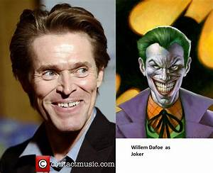 Willem Dafoe as Joker by newbuu on DeviantArt