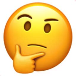 Thinking Face Emoji (u+1f914