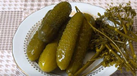 Sālītu gurķu recepte ziemai - manaOga.lv