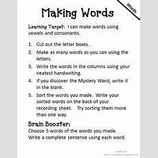 I Love 2 Teach Literacy Centers {free Printable}
