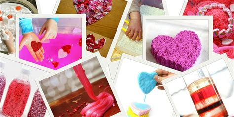 Try Valentine's Day Sensory Activities