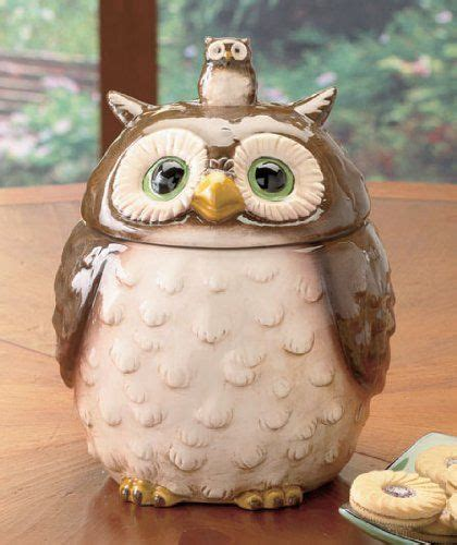 Owl Canisters For The Kitchen by Ceramic Forest Friends Owl Cookie Jar Canister Lcl Http