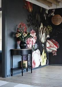 Tapete Blumen Modern : kreative wandgestaltung sorgt f r gro artige erscheinung im raum wohnungsideen ~ Eleganceandgraceweddings.com Haus und Dekorationen