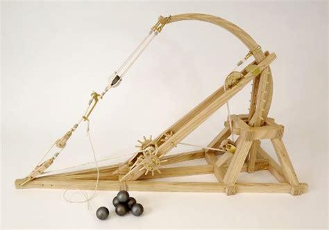 siege mini leonardo da vinci catapult view our prototype design