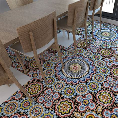 Fliesenaufkleber Bad Boden by Carrelage Adh 233 Sif Vinyl Flooring Floor Tile Stickers