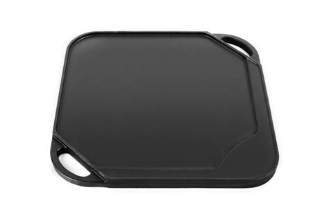 le creuset cast iron square reversible grill griddle  cutlery
