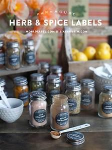 How To Make Jar Labels Spice Jar Labels Worldlabel Blog
