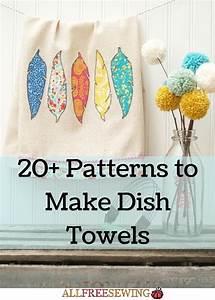 20, Patterns, To, Make, Dish, Towels