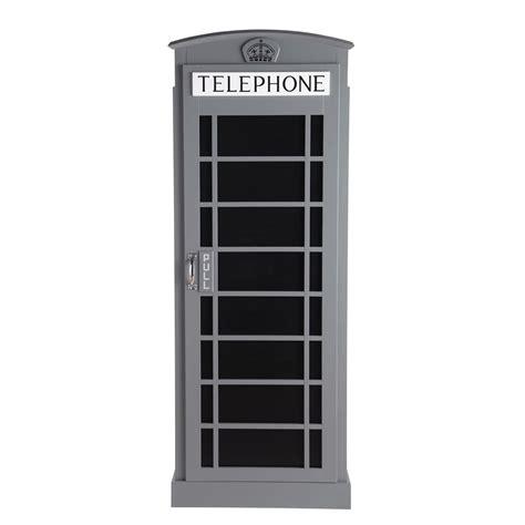 Kleiderschränke aus massivem holz sind robust, stabil und langlebig. Kleiderschrank aus Holz, B 71 cm, grau Phonebox Phonebox   Maisons du Monde