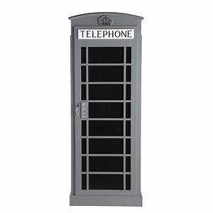 Kleiderschrank Aus Holz : kleiderschrank aus holz b 71 cm grau phonebox phonebox maisons du monde ~ A.2002-acura-tl-radio.info Haus und Dekorationen