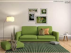 Welche Farbe Passt Zu Braun Möbel : wohnzimmer mit gr n einrichten ~ Markanthonyermac.com Haus und Dekorationen