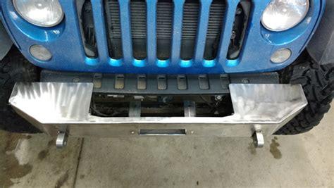 07-17 Jeep Wrangler (jk) Front Winch Bumper