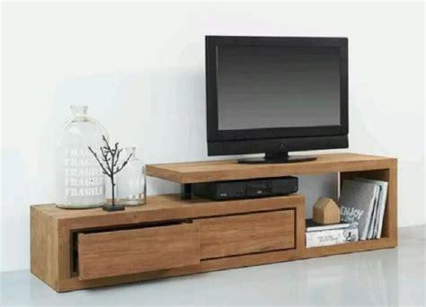 model harga meja tv kayu jati minimalis terbaru