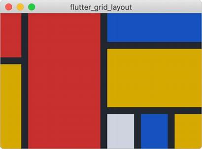 Grid Layout Flutter System Based Css Inspired
