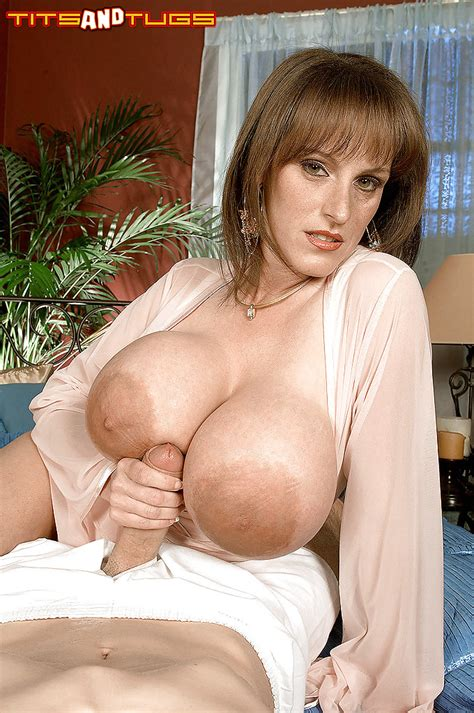 Milf Cindy Cupps Using Monster Tits To Deliver Titty Fuck