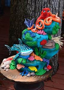 Finding Dory Cake, Cookie and Cupcake Ideas