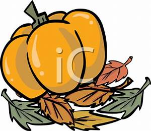 Pumpkin with Fall Leaves | Clipart Panda - Free Clipart Images