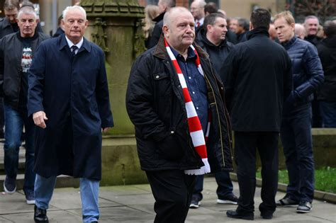 Funeral Coco United Fan Gary Thompson Manchester