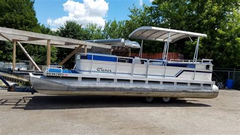 Used Bennington Pontoon Boats In Wisconsin by Used Pontoon Boats For Sale In Wisconsin United States