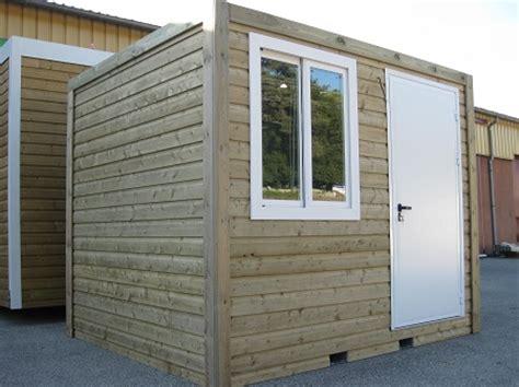 bureau prefabrique construction modulaire en bois bungalow à ossature bois