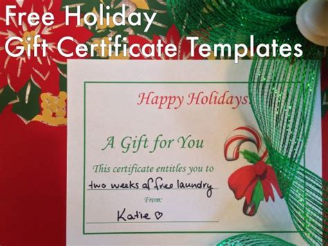 Free Holiday Gift Certificates Templates To Print Gifts For Girlfriend's Brother Kawaii Pittsburgh Pa 15232 Store Online Usa Sports 10 Year Old Boy Ladies 5 Pounds Rc Car Lovers Diwali To Customers Pretty Client