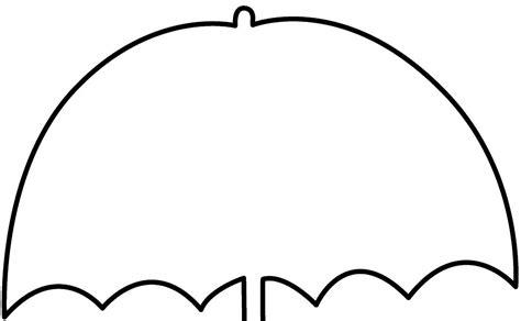 umbrella clipart black  white umbrella black