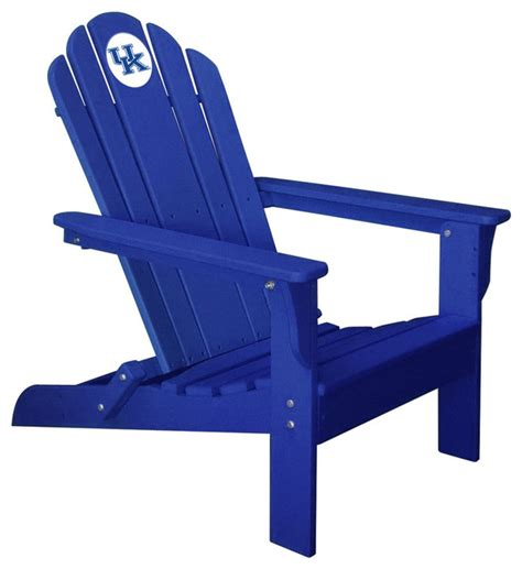 kentucky wildcats folding composite adirondack patio chair