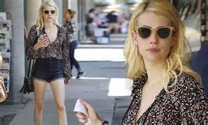Emma Roberts runs errands in Los Angeles amid Scream ...